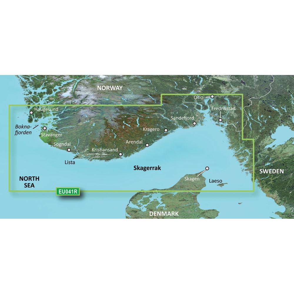 Garmin BlueChart® g3 Vision® HD - VEU041R - Oslo-Skagerak-Haugesund - microSD™/SD™