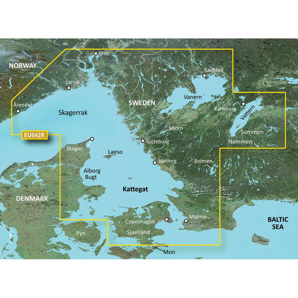 Garmin BlueChart® g3 Vision® HD - VEU042R - Oslo to Trelleborg - microSD™/SD™