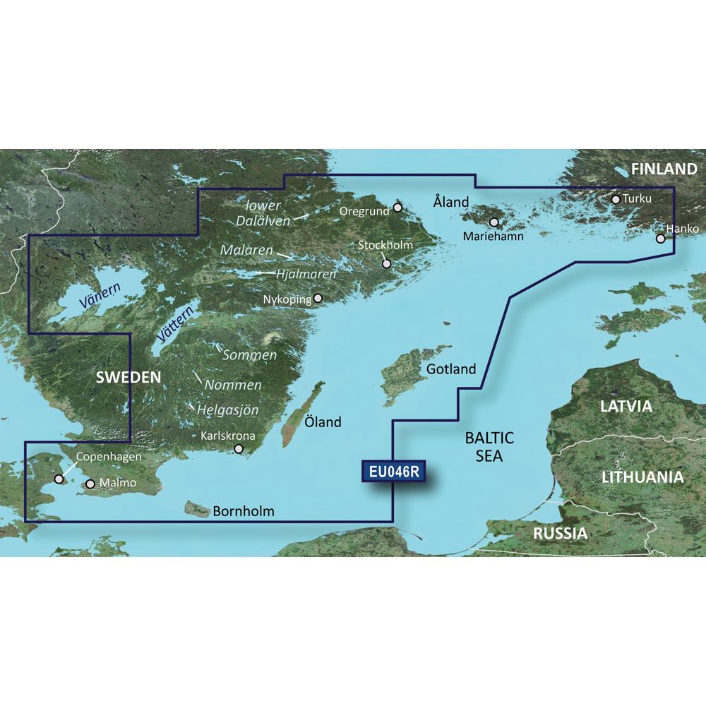 Garmin BlueChart® g3 Vision® HD - VEU046R - Öregrund, Åland to Malmö - microSD™/SD™