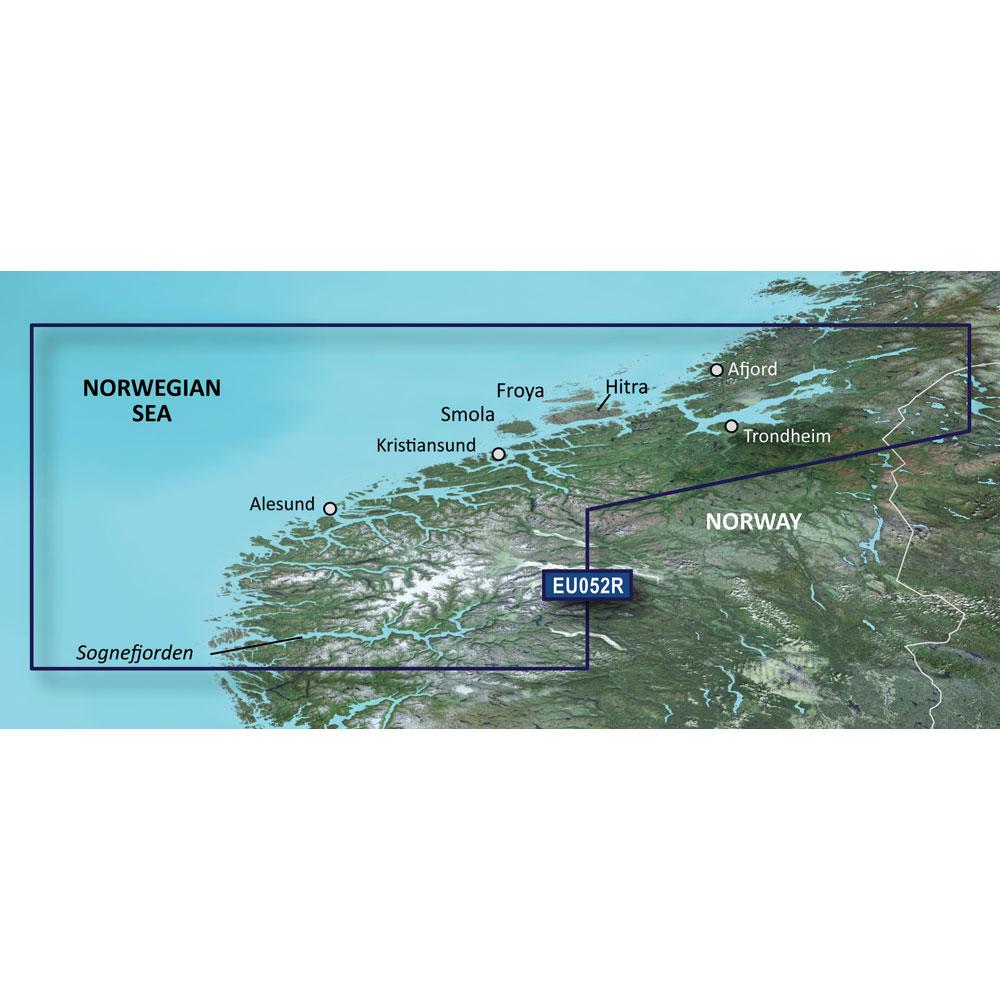 Garmin BlueChart® g3 HD - HXEU052R - Sognefjorden - Svefjorden - microSD™/SD™