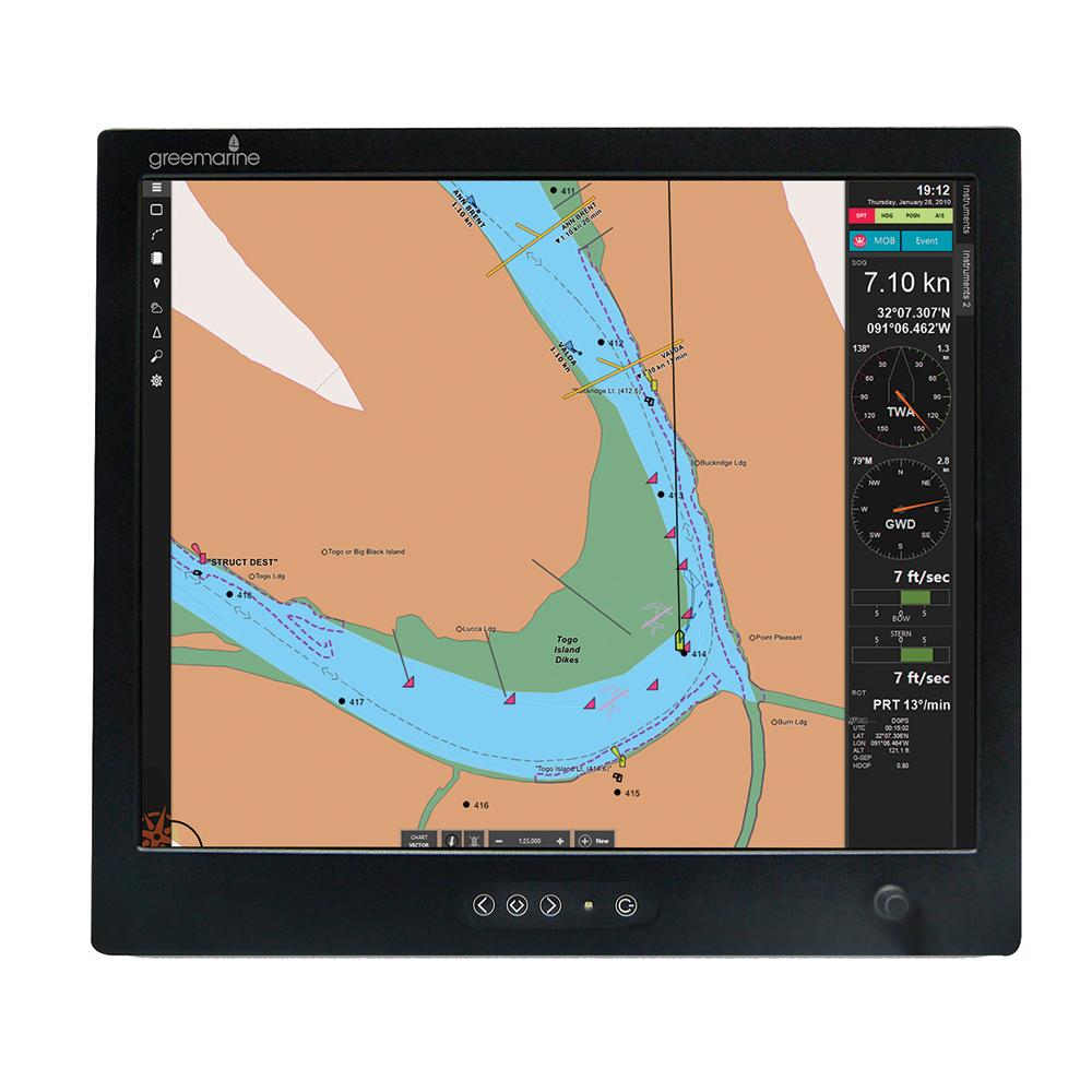 Green Marine PILOT-19 Commercial Marine Monitor Sunlight Readable