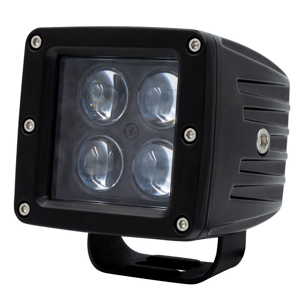 """HEISE 3"""" 4 LED Cube Light"""