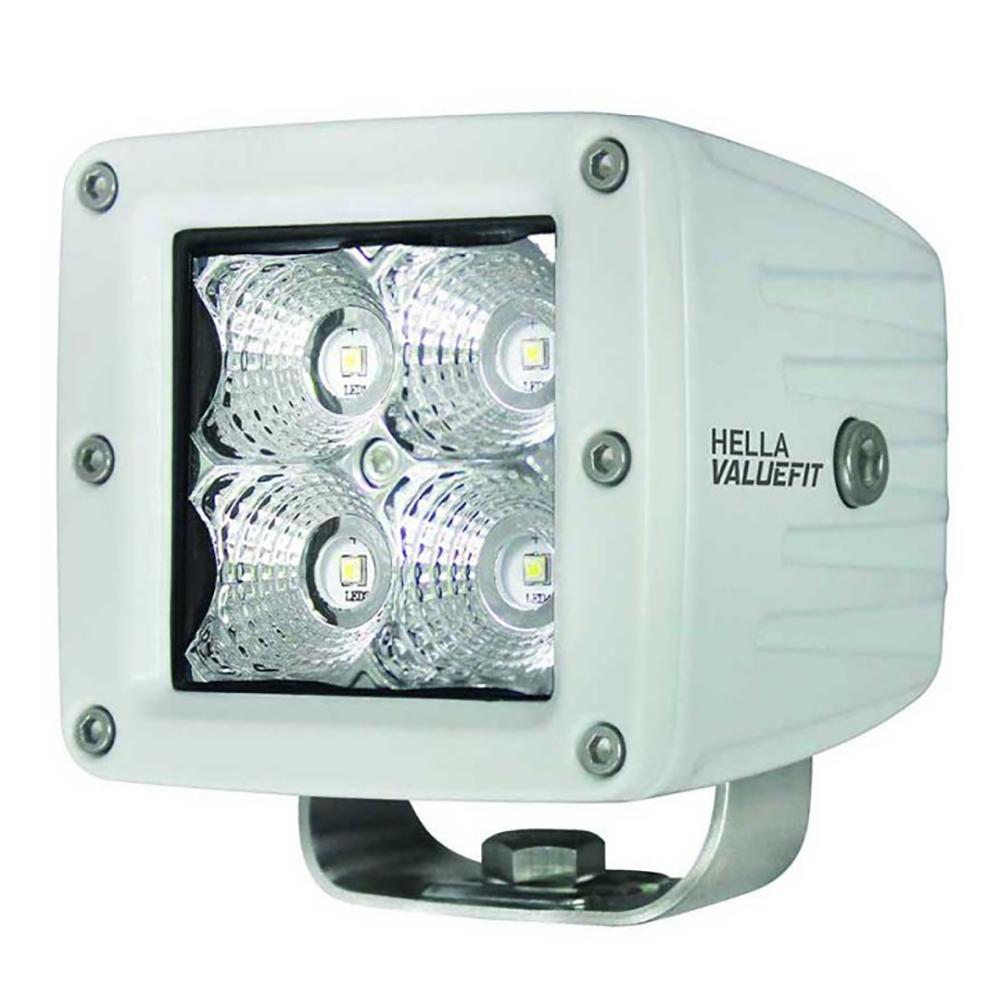 Hella Marine Value Fit LED 4 Cube Flood Light - White