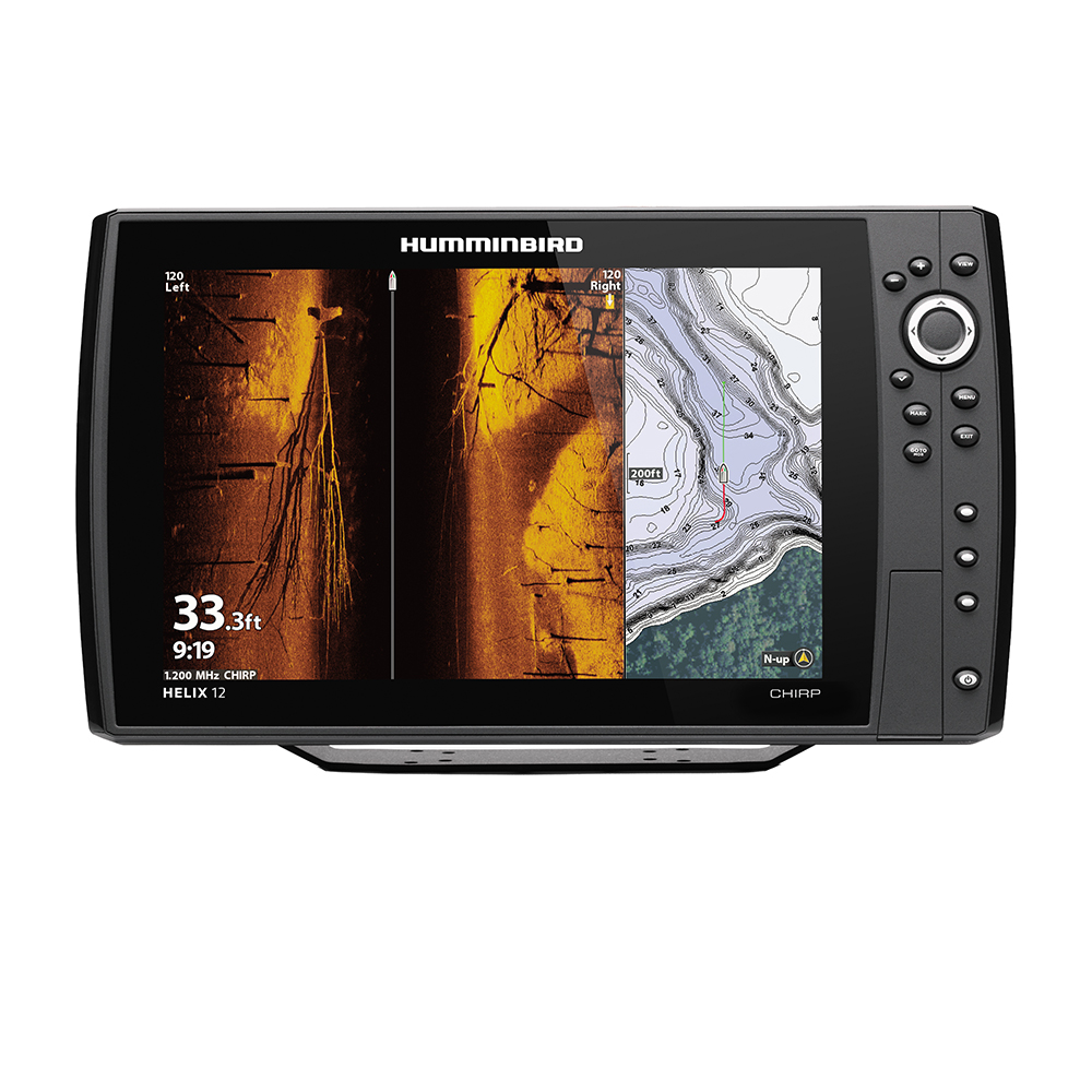 Humminbird HELIX® 12 CHIRP MEGA SI Fishfinder/GPS Combo G3N w/Transom Mount Transducer