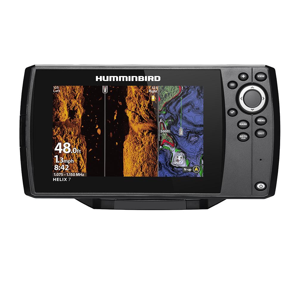Humminbird HELIX® 7 CHIRP MEGA SI Fishfinder/GPS Combo G3N w/Transom Mount Transducer