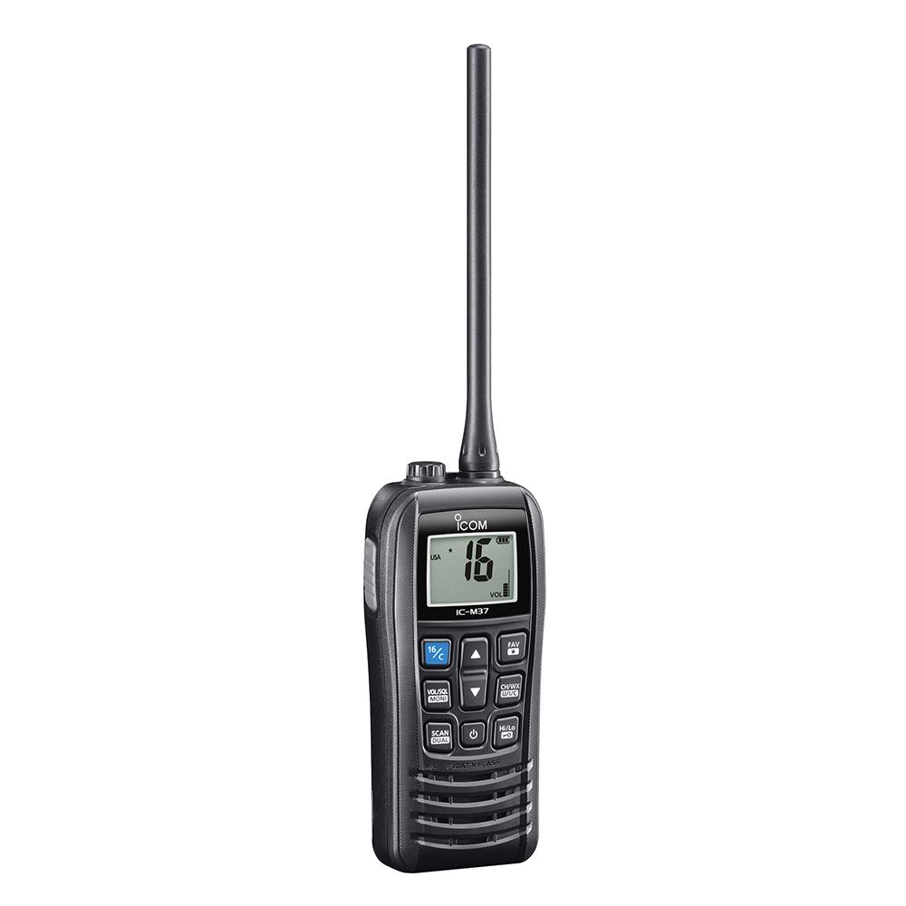 Icom M37 Marine VHF Handheld Radio - 6W