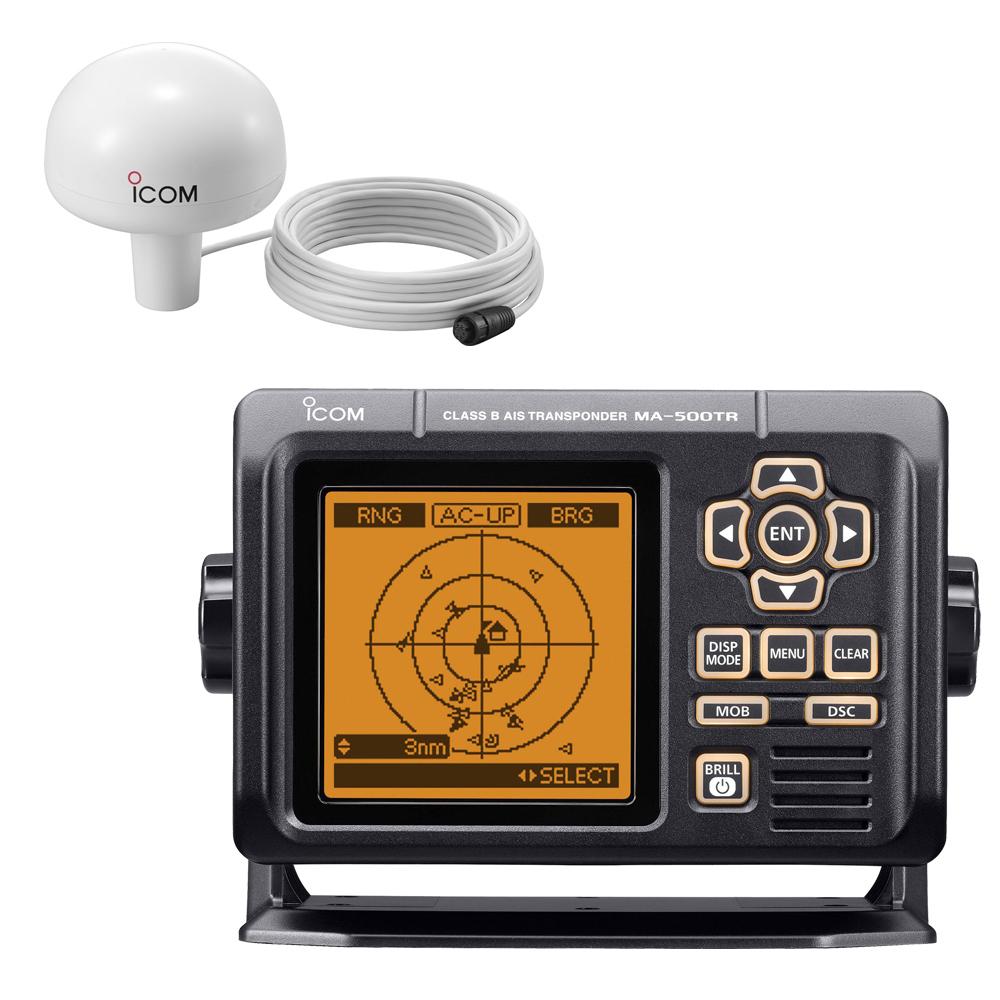 Icom MA-500TR AIS Transponder w/MX-G5000 GPS Receiver Class B