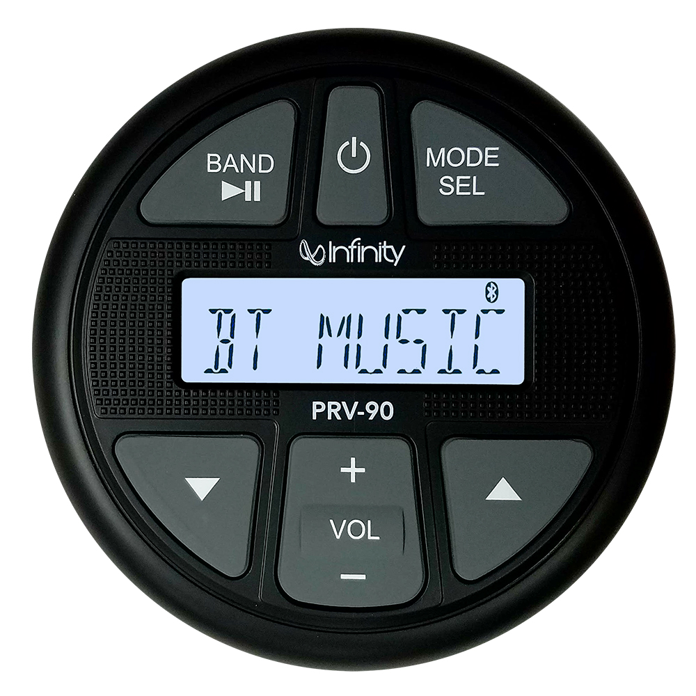 Infinity PRV90 AM/FM/BT/USB Gauge Style Stereo