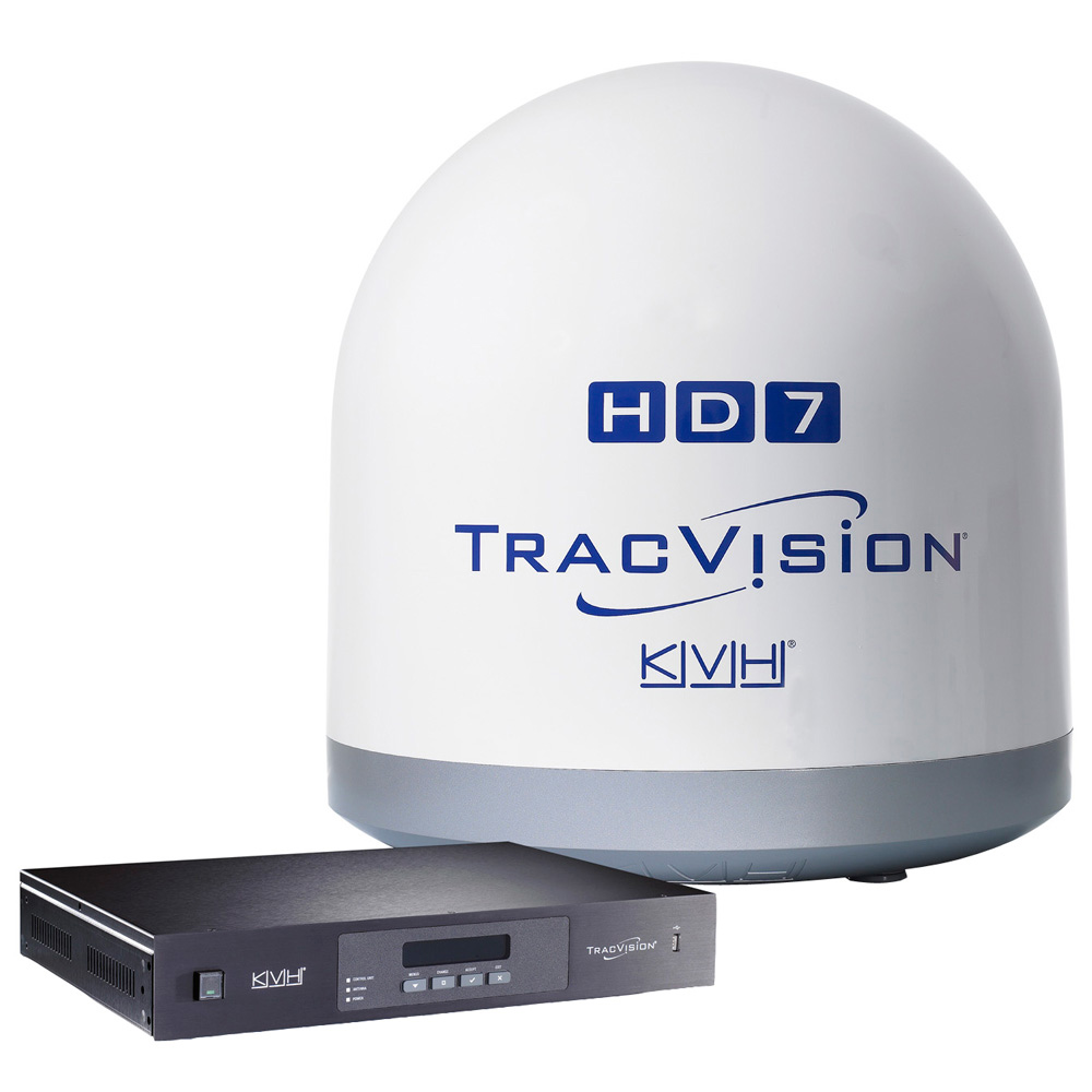 KVH TracVision HD7 w/Tri-Americas LNB - Truck Freight Only