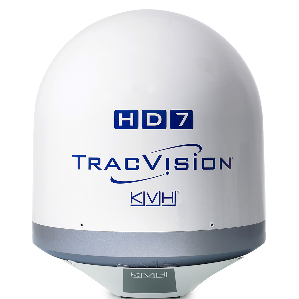 KVH TracVision HD7 w/Tri-Americas LNB Tapered Base to Match V7-IP