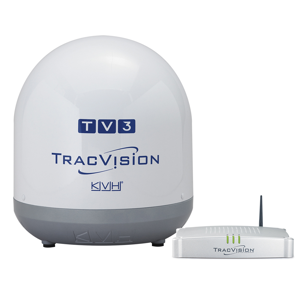 KVH TracVision TV3 - Linear Universal Single & Sky Mexico Configuration
