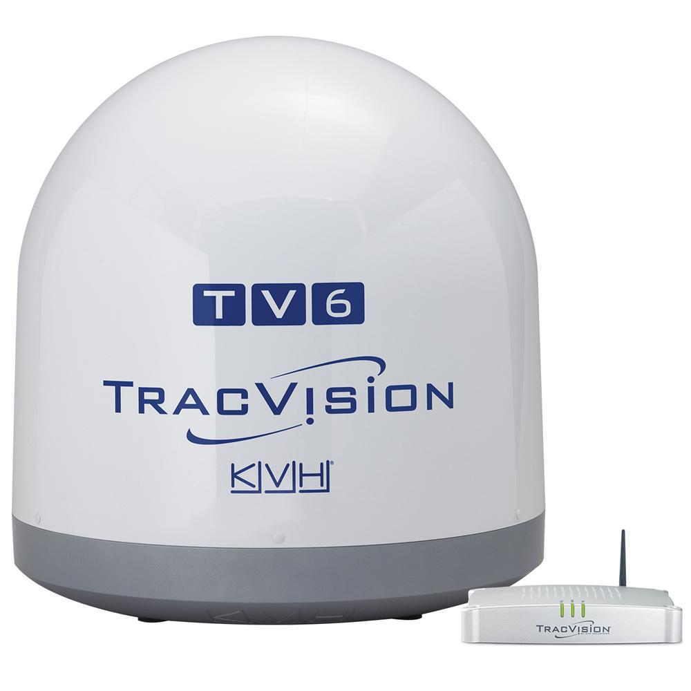 KVH TracVision TV6 - Circular LNB f/North America