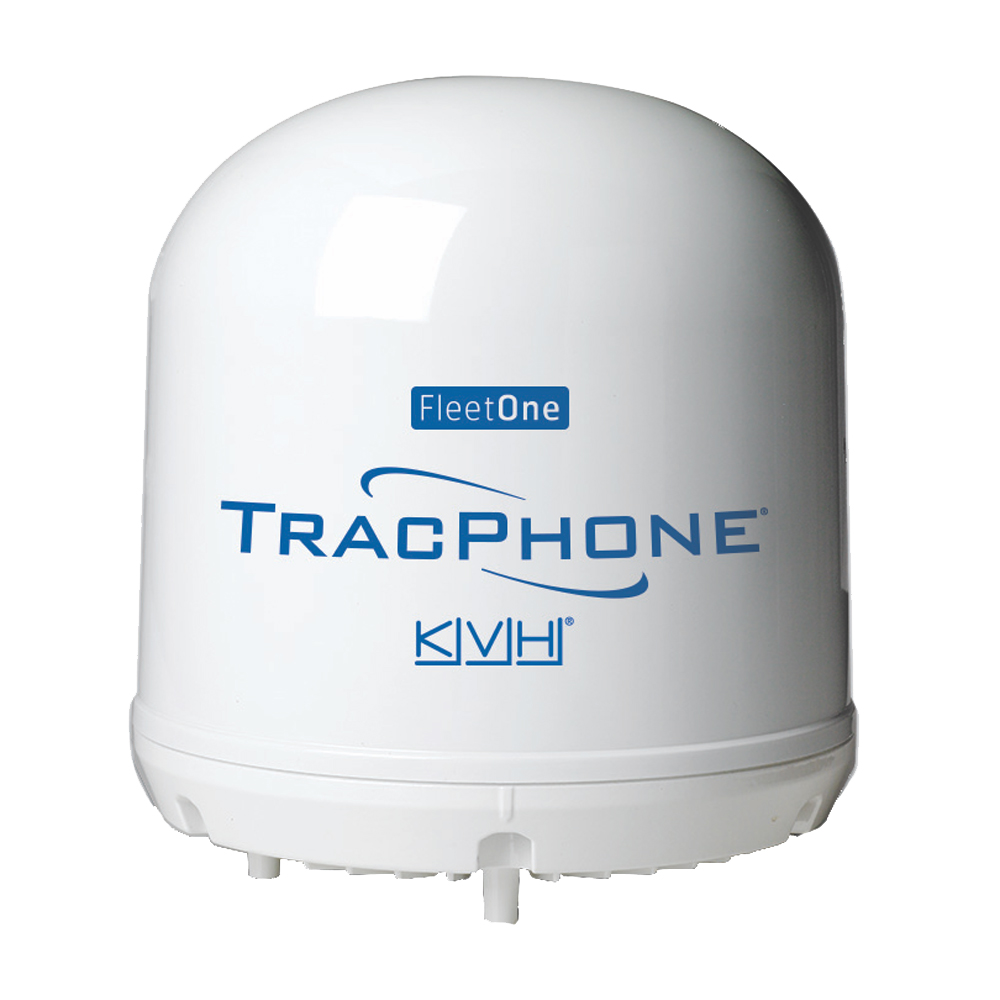 KVH TracPhone® Fleet One Compact Dome w/10M Cable