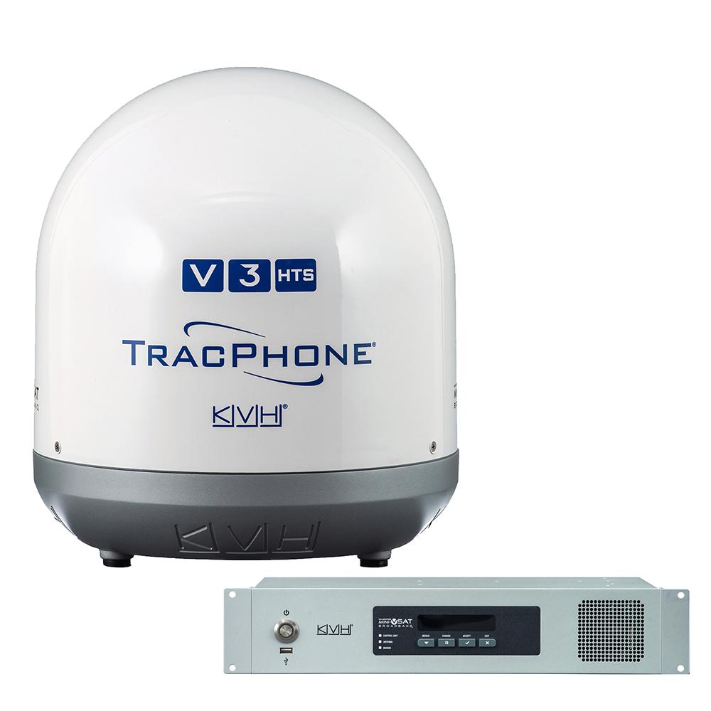 """KVH TracPhone® V3-HTS Ku-Band 14.5"""" mini-VSAT"""