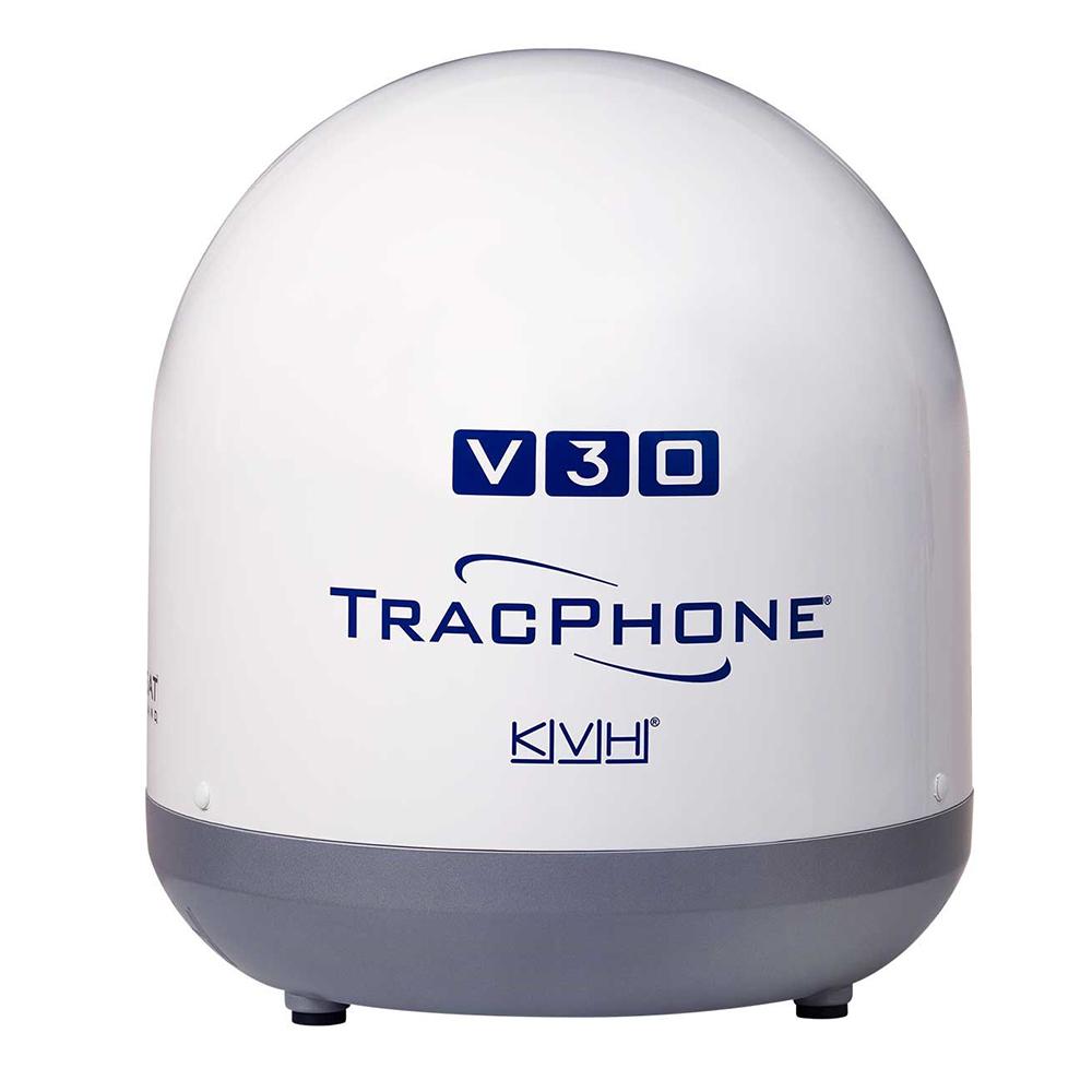 KVH Ultra-Compact TracPhone® V30 w/DC-BDU