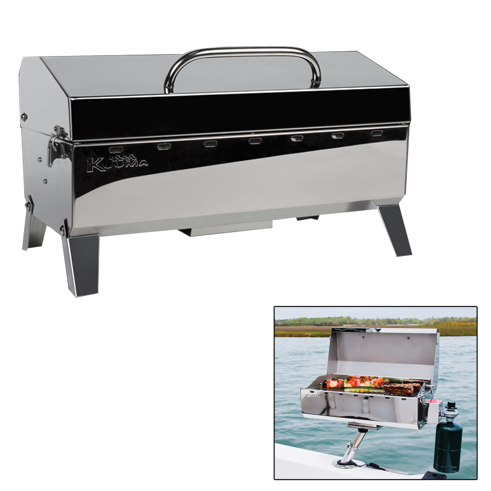Kuuma Stow N' Go 160 Gas Grill - 13,000BTU with Regulator - 58130