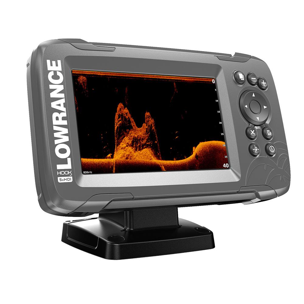 Lowrance HOOK2-5X GPS No Chart Splitshot - # 000-14016-001