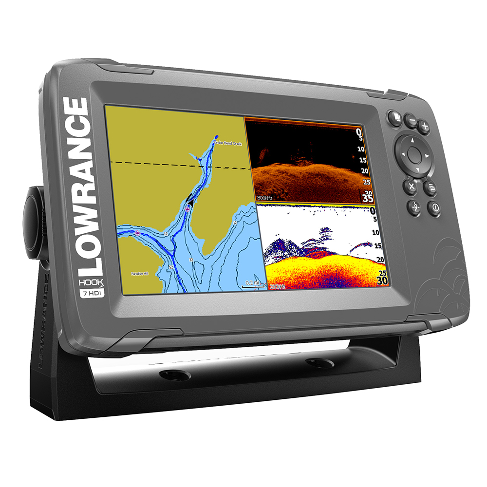 Lowrance HOOK2-7 Splitshot USA/Canada Navionics Plus - # 000-14290-001