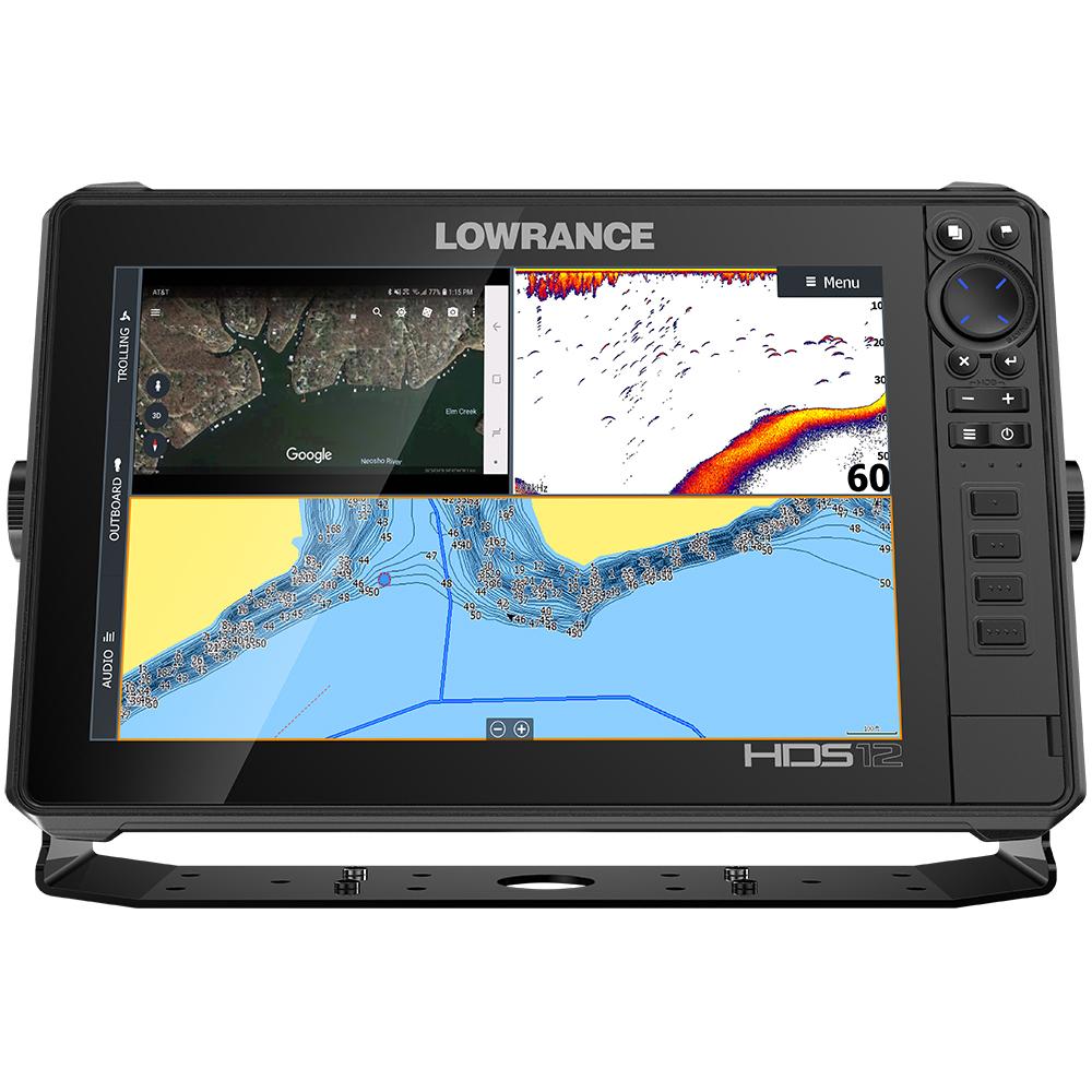 Lowrance HDS-12 LIVE No Transducer w/C-MAP Pro Chart