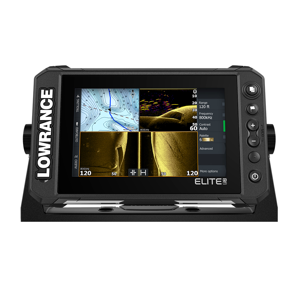 Lowrance Elite FS 7 Chartplotter/Fishfinder w/Active Imaging™ 3-in-1 Transom Mount Transducer