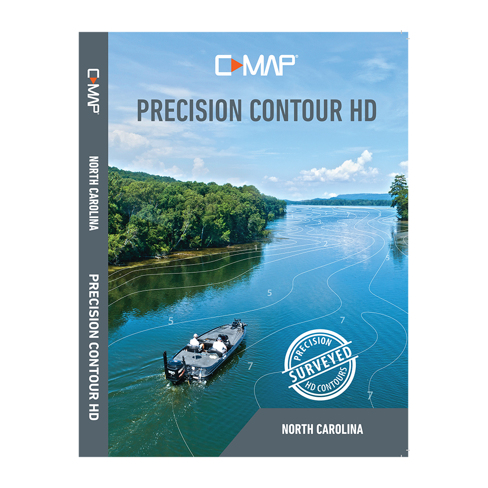 Lowrance C-MAP Precision Contour HD Chart - North Carolina
