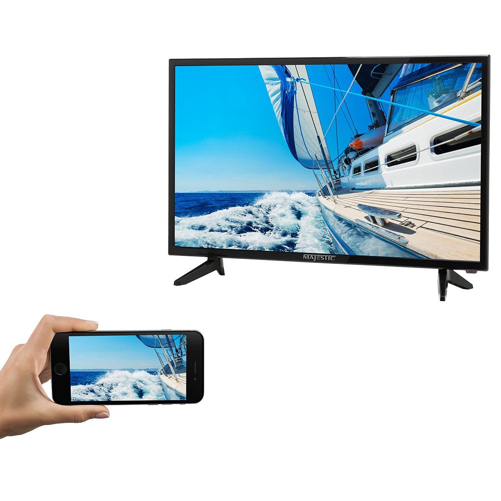 "Majestic 32"" Full HD 12V TV w/Built-In Global HD Tuners"