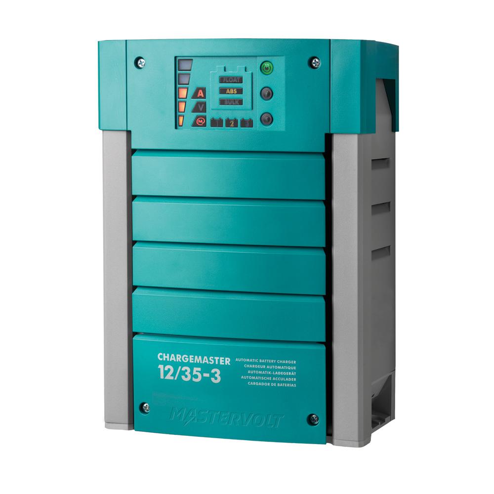 Mastervolt ChargeMaster 35 Amp Battery Charger - 3 Bank, 12V