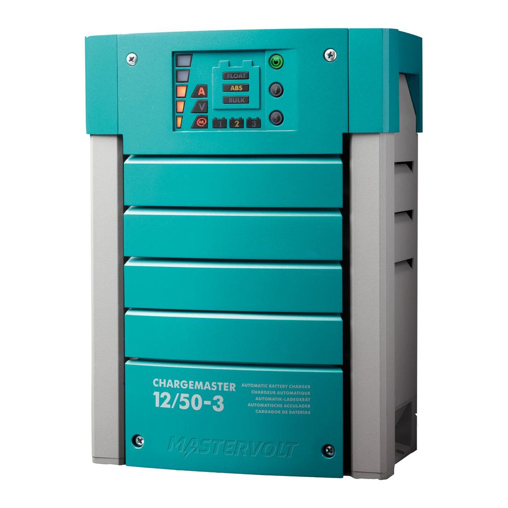 Mastervolt ChargeMaster 50 Amp Battery Charger - 3 Bank, 12V