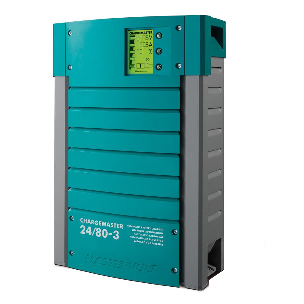Mastervolt ChargeMaster 80 Amp Battery Charger - 3 Bank, 24V