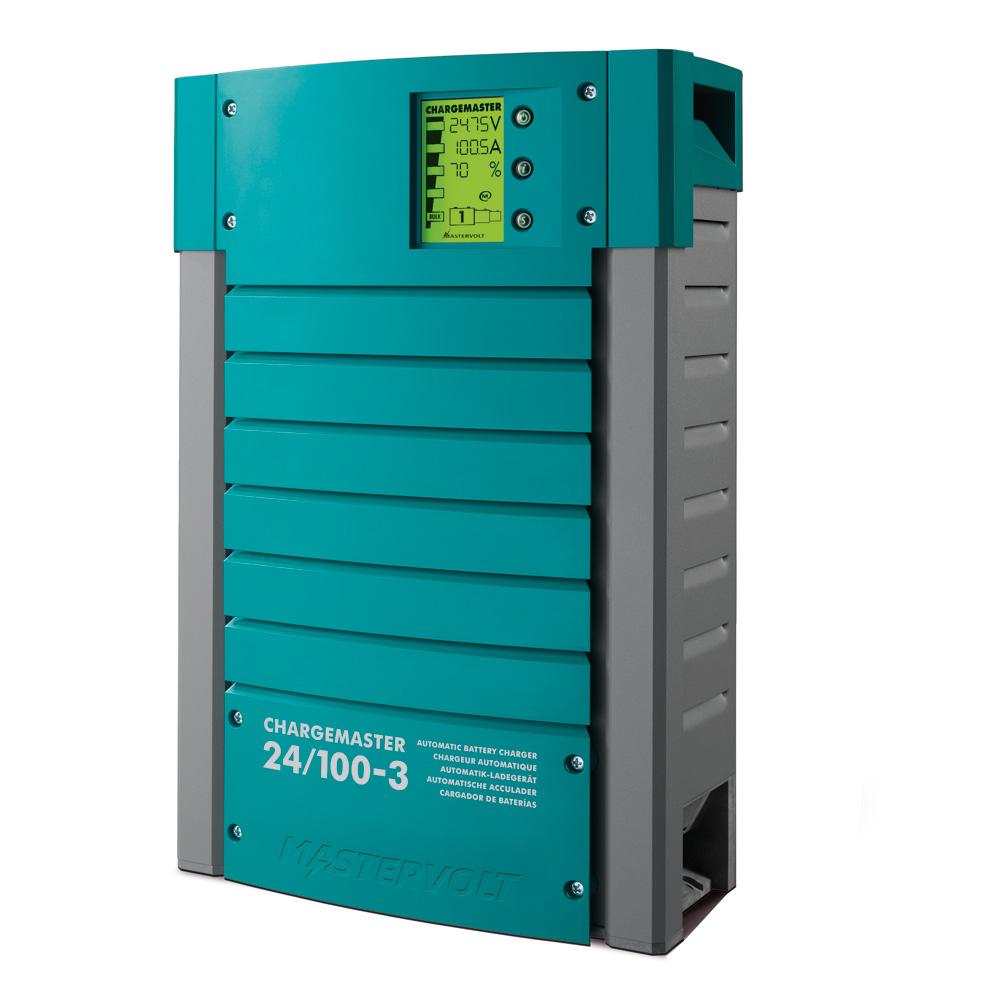Mastervolt ChargeMaster 100 Amp Battery Charger - 3 Bank, 24V