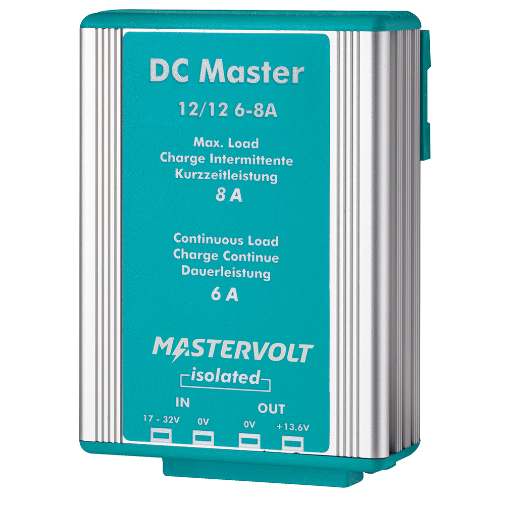 Mastervolt DC Master 12V to 12V Converter - 6A w/Isolator