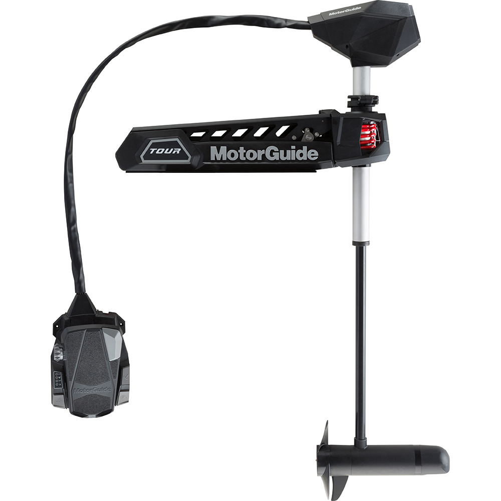 """MotorGuide Tour Pro 82lb-45""""-24V Pinpoint GPS Bow Mount Cable Steer - Freshwater"""