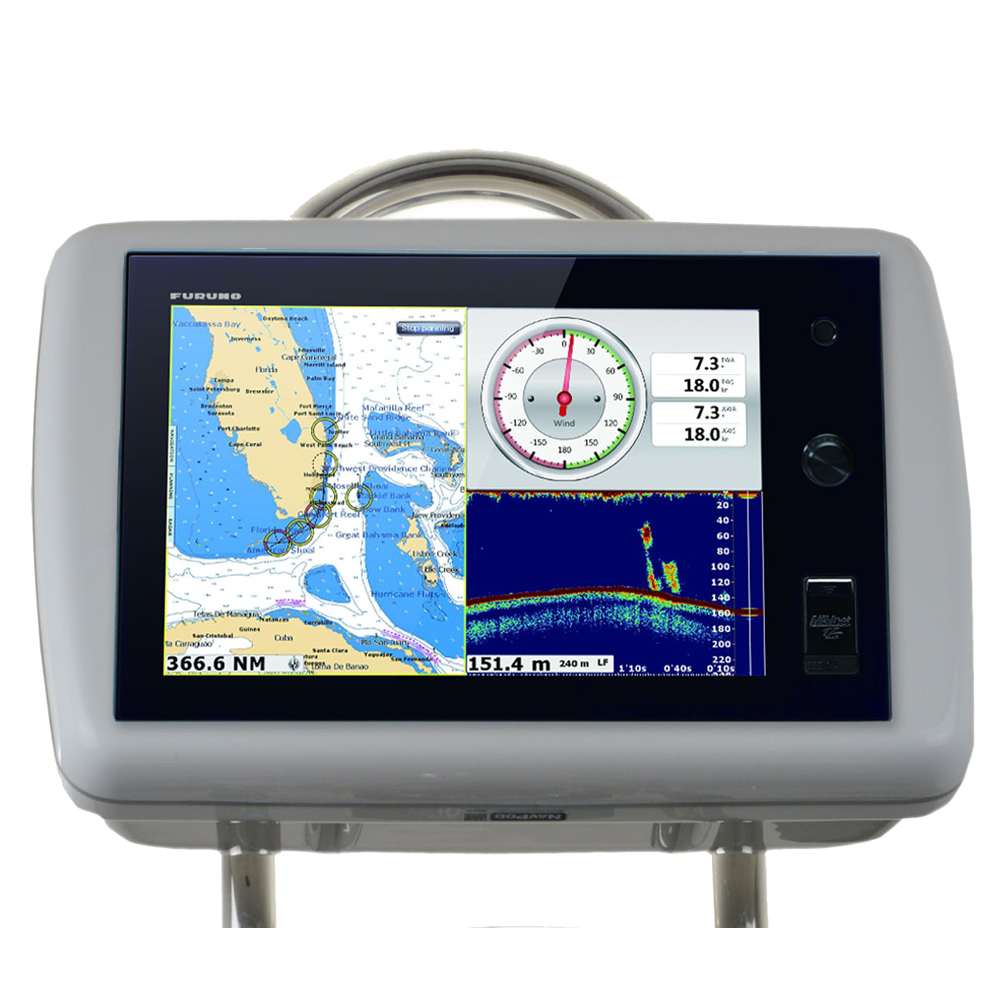 """NavPod GP1036 SailPod Pre-Cut f/Furuno NavNet TZtouch 14.1"""" Multi Touch f/9.5"""" Wide Guard"""