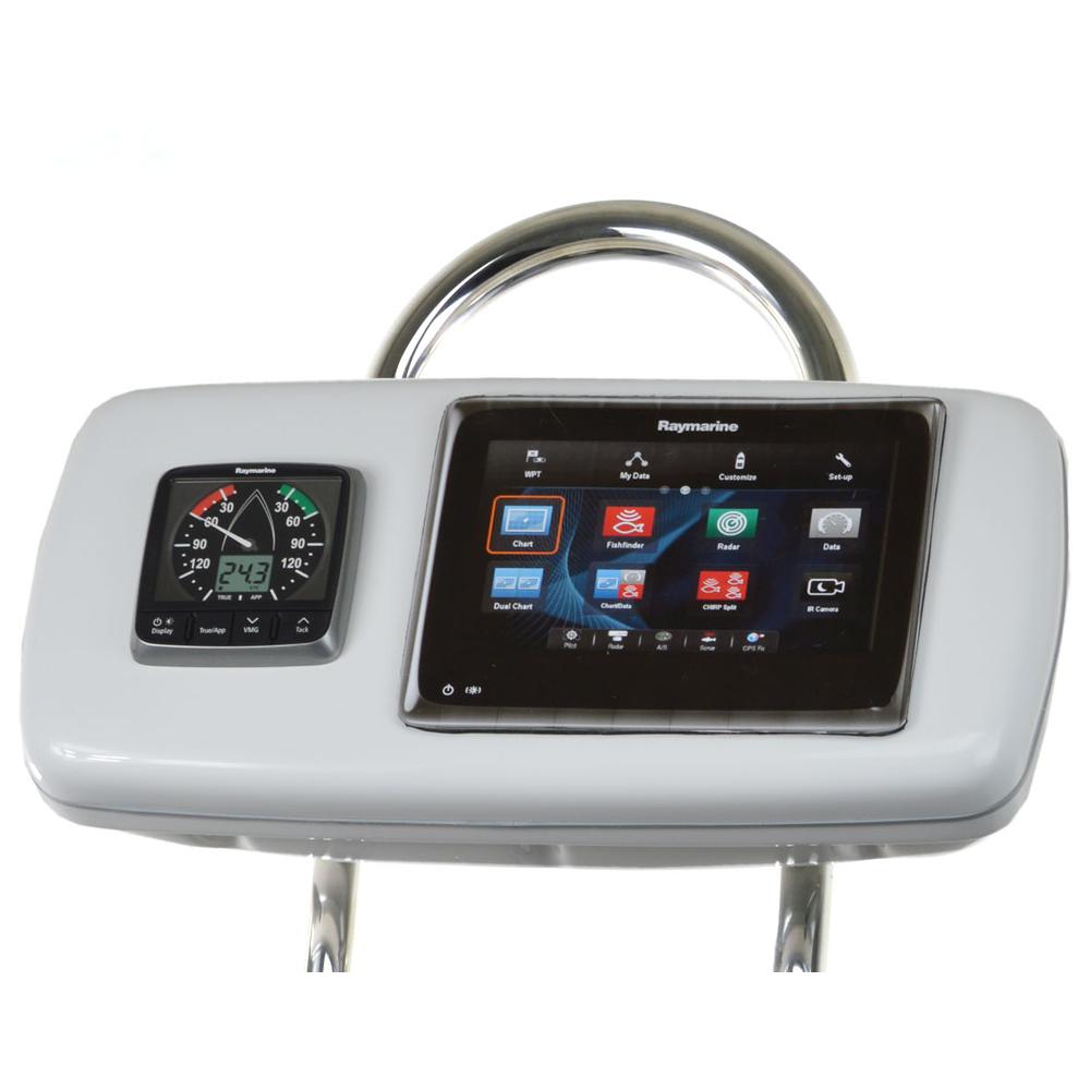 """NavPod GP1040-14 SystemPod Pre-Cut f/Raymarine a95/a97/a98 & 1 Instrument f/9.5"""" Wide Guard"""