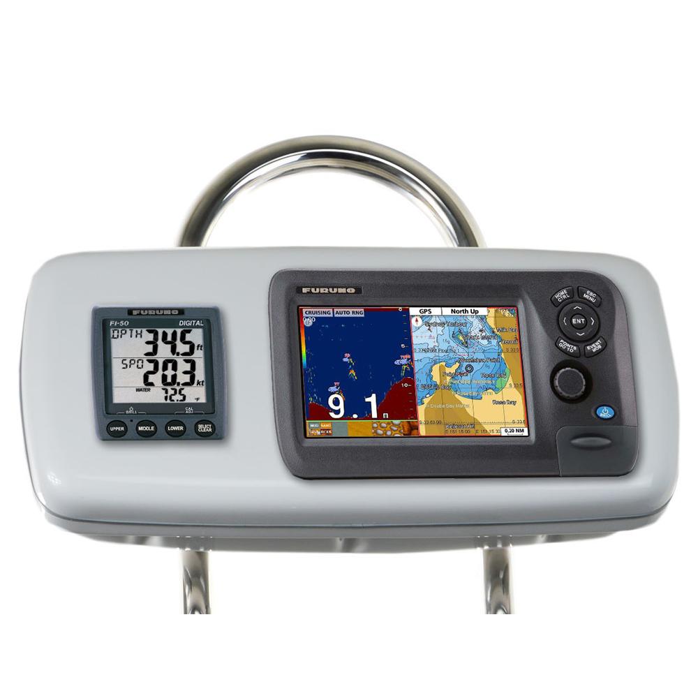 """NavPod GP1040-18 SystemPod Pre-Cut f/Furuno GP1870/GP1870F & 1 Instrument f/9.5"""" Wide Guard"""