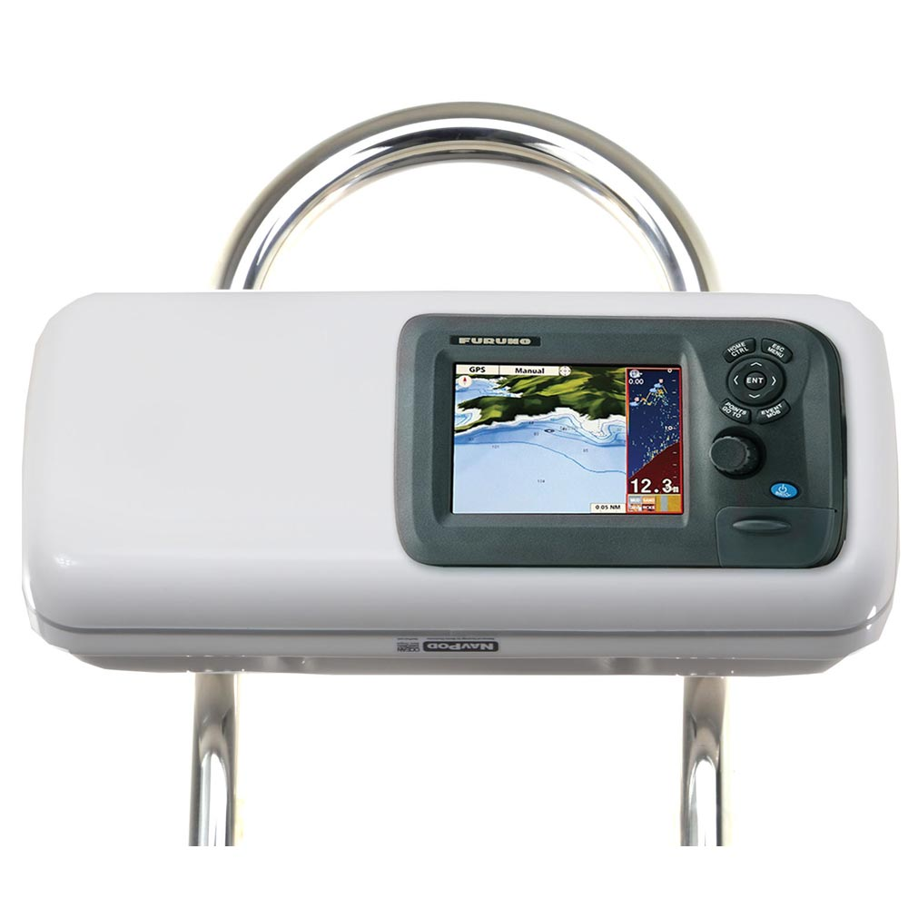 """NavPod GP1505 SystemPod Pre-Cut f/Furuno GP1670/GP1670F 5.7"""" w/Space On The Left f/9.5"""" Wide Guard"""