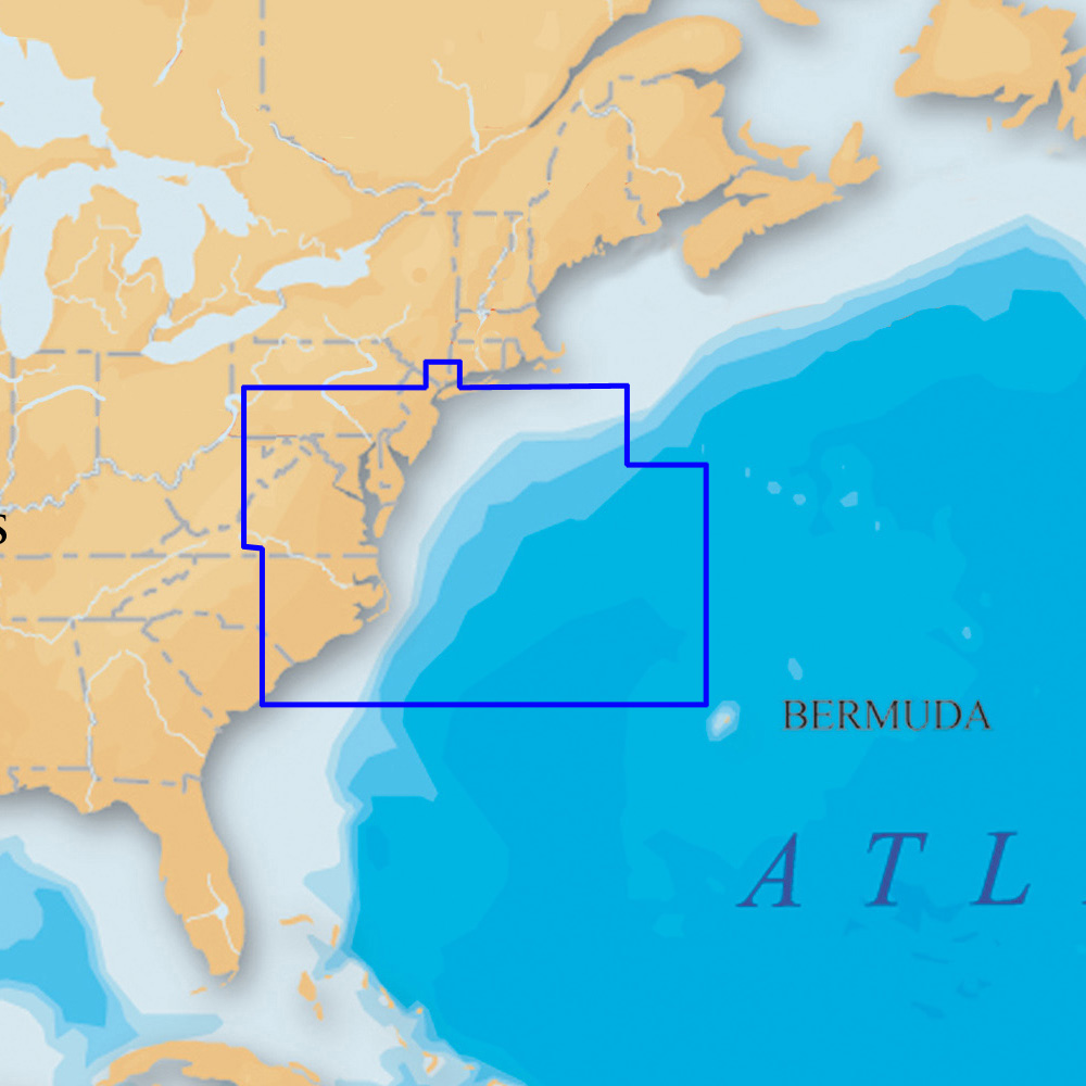 Navionics Platinum+ - US Mid Atlantic and Canyons microSD™/SD™