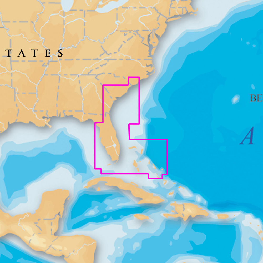 Navionics Platinum+ - Southeast and Bahamas - microSD™/SD™