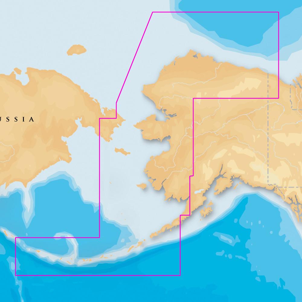 Navionics Platinum+ - NW Alaska & Aleutians - microSD™/SD™