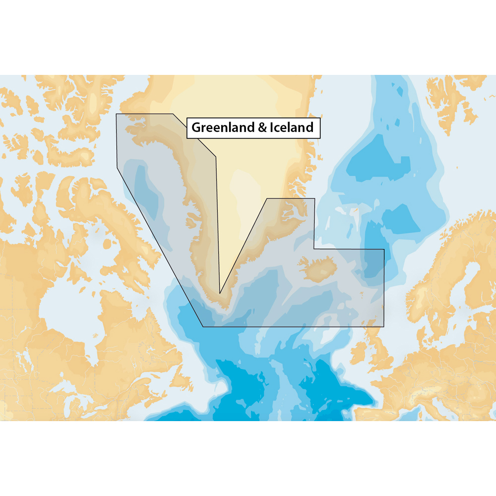 Navionics+ Greenland & Iceland - microSD™