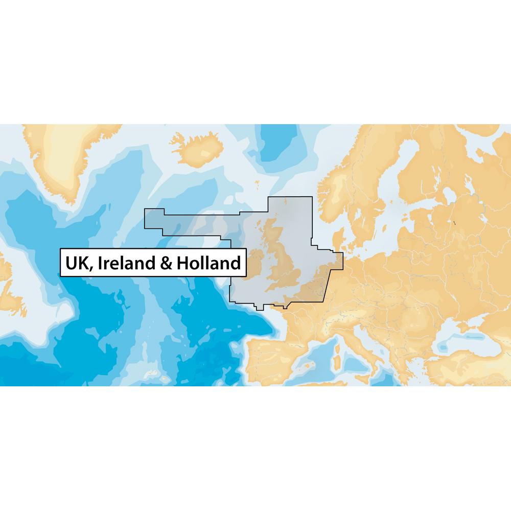 Navionics+ UK, Ireland & Holland - microSD™