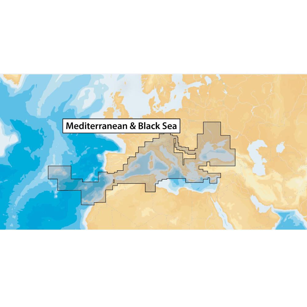 Navionics+ Mediterranean & Black Sea - microSD™