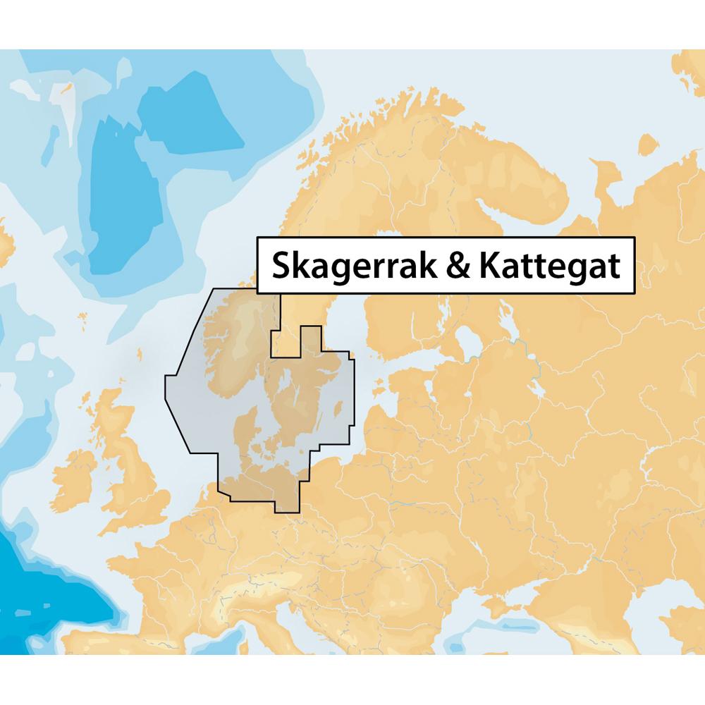 Navionics+ Skagerrak & Kattegat - microSD™