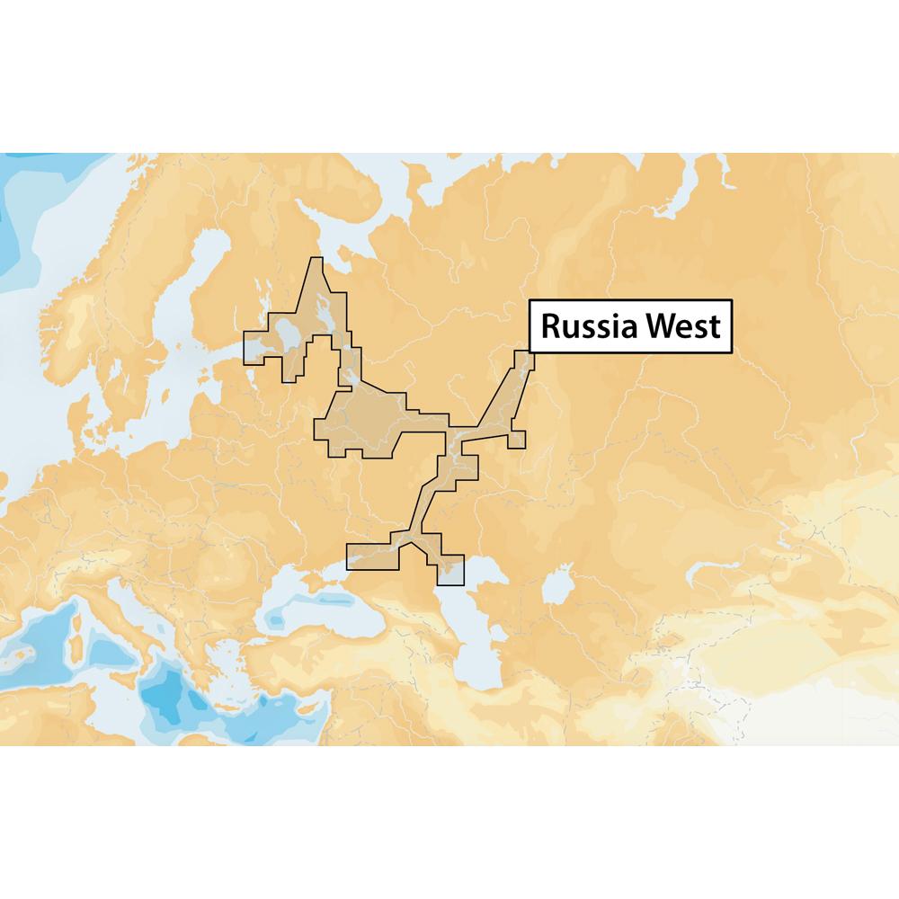 Navionics+ Russia West - microSD™