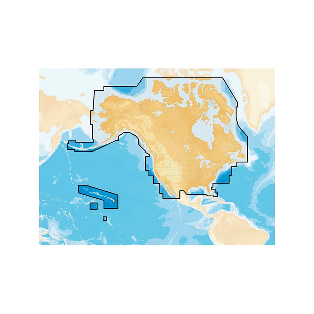 Navionics+ Preloaded Chart of All USA/Canada -Marine & Lakes- microSD™