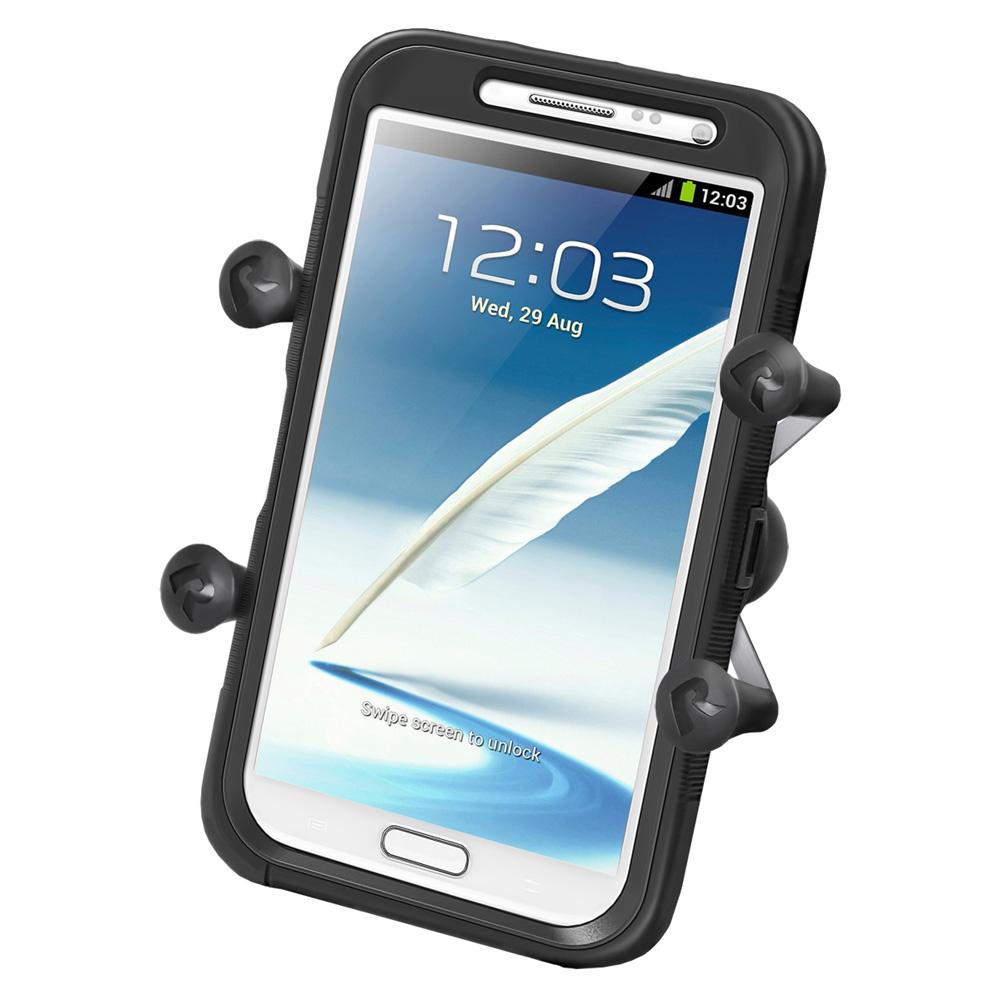 "RAM Mount Universal X-Grip IV Large Phone/Phablet Holder w/1"" Ball"