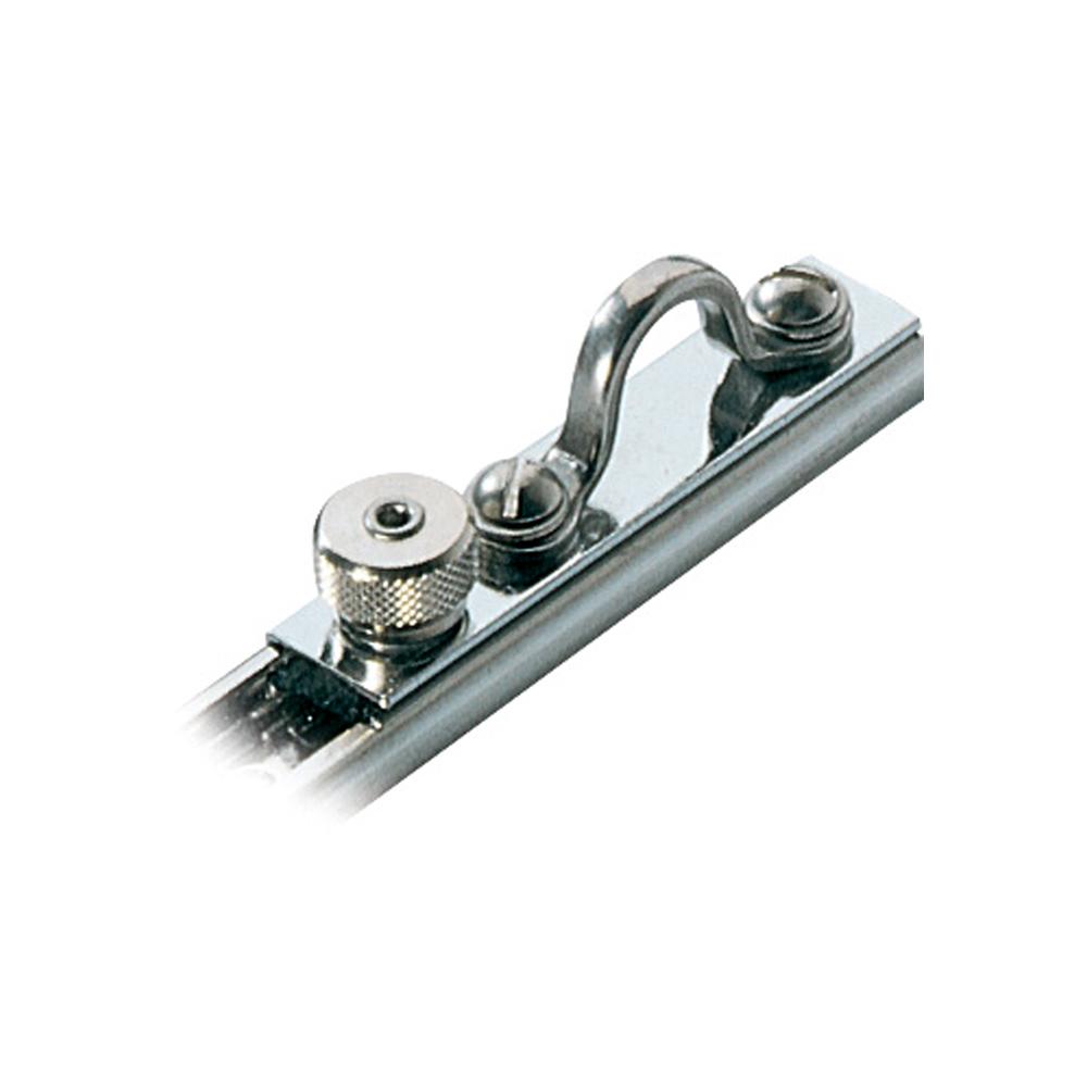"Ronstan Series 19 C-Track Slide - Saddle Top & Spring Loaded Stop - 71mm (2-25/32"") Length"