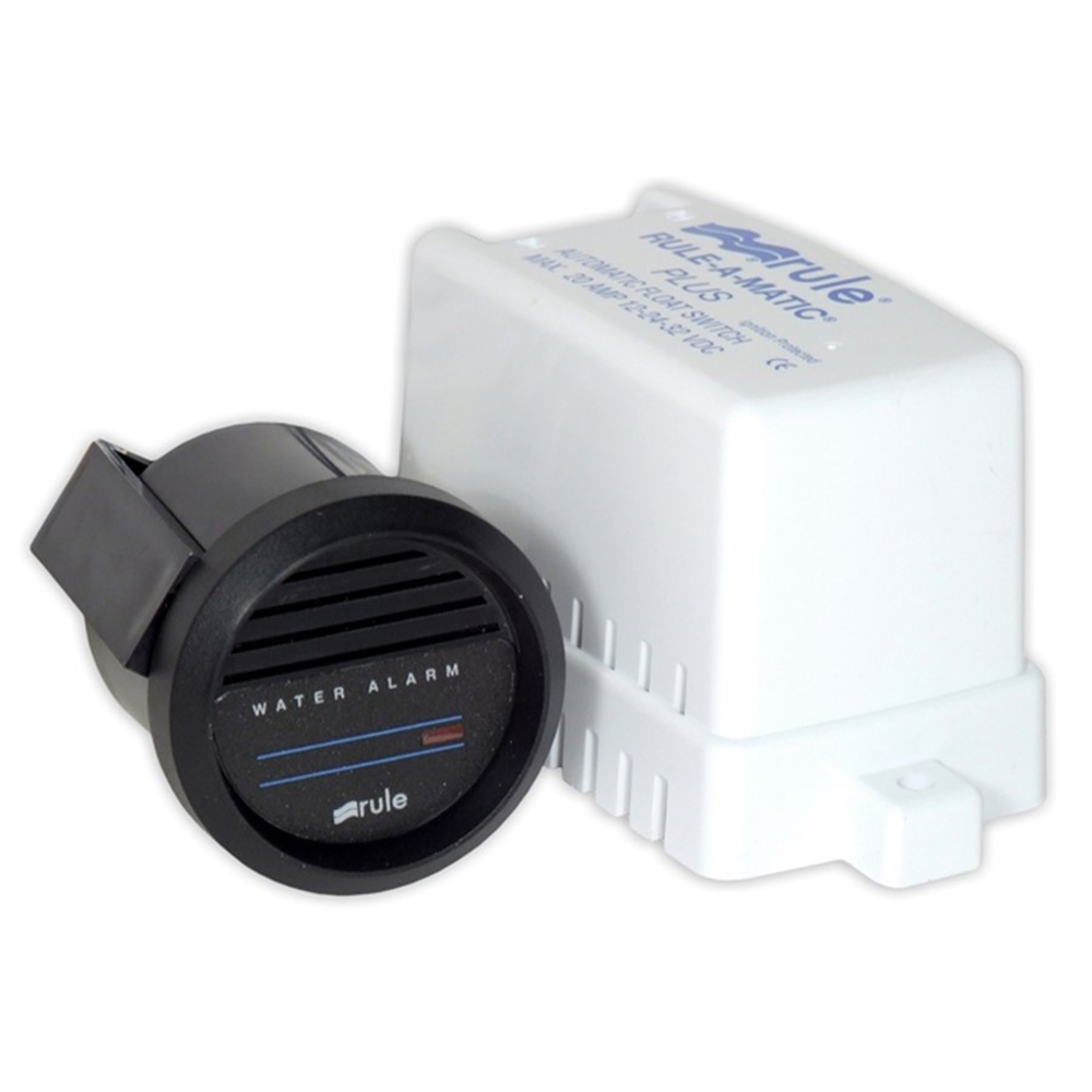 Rule High Water Bilge Alarm w/Switch & Gauge - 24V