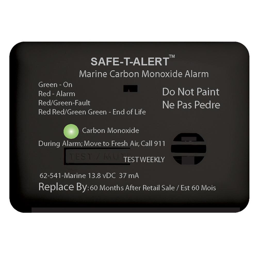 Safe-T-Alert 62 Series Carbon Monoxide Alarm - 12V - 62-541-Marine - Surface Mount - Black