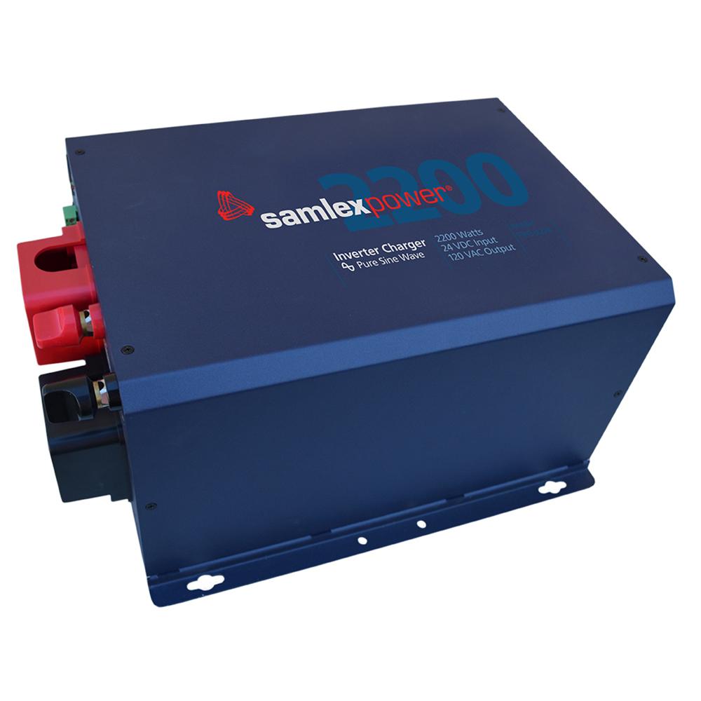 Samlex 2200W Pure Sine Inverter/Charger - 24V